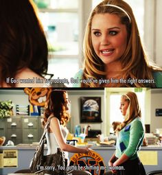 If God wanted him to graduate. ~ Easy A ~ Movie Quotes Easy A Film, Movies Showing, Movies And Tv Shows, Atheist Beliefs, Tv Quotes, Easy A Quotes, Favorite Movie Quotes, Favorite Things, Teen Movies