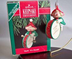 """Hallmark Keepsake Ornament, """"Hark It's Herald"""" #2 in the Hark It's Herald Series."""