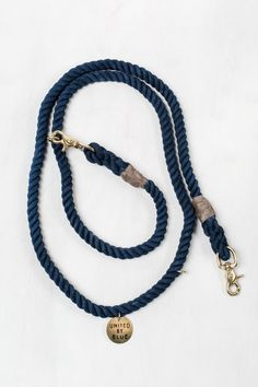 United By Blue x Found My Animal Cobalt Dog Leash | United By Blue
