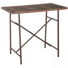 "Table haute sapin massif ""Sumatra"" Casita"