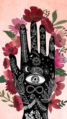 Cute Wallpapers, Wallpaper Backgrounds, Iphone Wallpaper, Art And Illustration, Witchy Wallpaper, Posca Art, Hippie Art, Psychedelic Art, Art Inspo