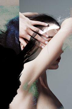SUPERHERO --- visual by Oona Smet & Louise Mertens, hair & make-up: Crystal Die, model: Aline @ Jackie Lee
