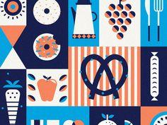 breakfast by Bailey Sullivan #Design Popular #Dribbble #shots