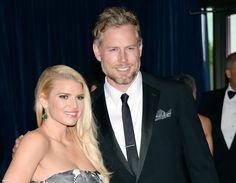 American Singer Celebrity Couple Jessica Simpson and Eric Johnson Wallpaper