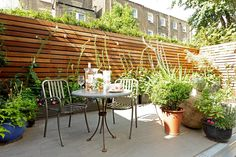Modern Gartenzaun aus Holz kaufen