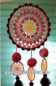 Sublime Crochet for Absolute Beginners Ideas. Capital Crochet for Absolute Beginners Ideas. Crochet Mandala Pattern, Crochet Art, Crochet Home, Love Crochet, Crochet Crafts, Crochet Doilies, Hand Crochet, Crochet Projects, Crochet Patterns
