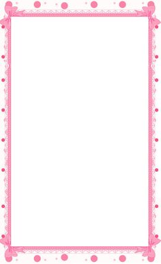 Pink Floral Borders | ... Printable Stationary Border Paper, Free Printable  Floral Border