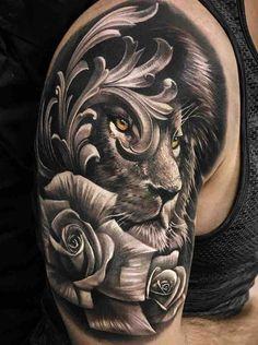4fe1f48077ec8 63 Best Shoulder tattoos for men images in 2018 | Tattoos for men ...