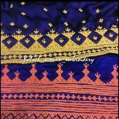 #Baloch_women_embroidery#needlework#Paliwarembroidery #makoran#Balochistan#dress#parivar #سوزندوزی_زنان_بلوچ #فشن_مدل_مد_بلوچی #مکران_ایران #پریواردوزی #پلیوار_چار_دانک  در بررسی های تاریخ سوزندوزی ملل و ریشه سوزندوزی زنان بلوچ که قدمتی کهن دارد،بسی جای تامل وجود دارد. زیرا بدرستی سر منشأ سوزندوزی بلوچی و چگونگی رواج این هنر در میان اقوام بلوچ مشخص نیست.یکی از سوزندوزی های برجسته و در خور تامل رایج در میان زنان بلوچ(پلیوار_پریوار_پریوال )نام دارد که دارای قدمتی کهن است، اما سر منشأ این دوخت…
