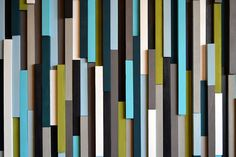 Modern Wood Sculpture Wall Art Skinny by moderntextures on Etsy