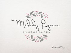 Photography Logo - Customized for any business logo - Premade Photography Logos- Watermark 108