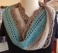 So pretty! Ravelry: Fooling Around Cowl pattern by Kathy Kelly available Fall 2013.