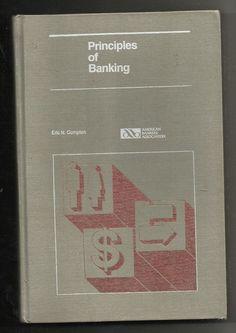 Vintage Principles of Banking Eric N. Compton ABA Hardback Book Education #Textbook