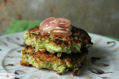 I get my revenge on all the bad zucchini fritters I have ever made with these crispy perfect Brussels Sprouts Fritters!
