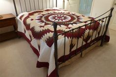 Amish Quilt Mariners Star Pattern In Stock and Ready to Ship