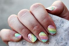 Stripes.Nails daily