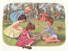 kampeeren, mijn verzameling (oude) kampeerboeken: Tiny gaat kamperen