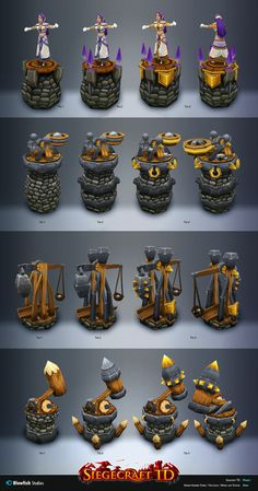 Texturing and some modelling assets for upcoming Iphone game