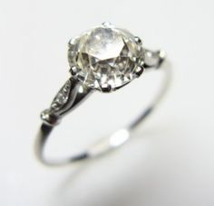 Gorgeous vintage diamond engagement ring