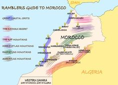 If you want to go backpacking in Morocco then this is the guide you need. It contains information on safety, transport, costs, accommodation tips, food, where to go, when to go and the shit bits. If the specific information you need isn't here, feel free to email us and we'll