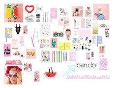 """""""Papers and Accessories Cute"""" by gabiure on Polyvore featuring moda, ban.do y Miss Selfridge"""