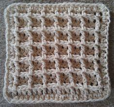 Waffle stitch #crochet
