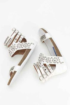 Jeffrey Campbell Pula Embellished Sandal - Urban Outfitters
