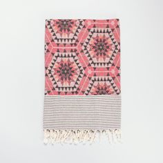 Rose heavenly honeycomb blanket | House of rym blanket