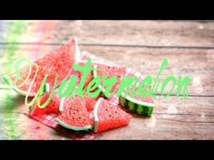 ▶ How to Make a Doll Watermelon - Doll Crafts - YouTube