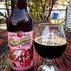 Down The Hatch: Spiteful Brewing's Mrs. O'Leary's Chocolate Milk Stout with Raspberries