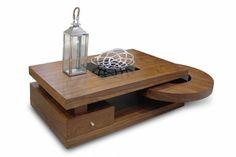 Τραπέζι σαλονιού Rondo καρυδιά Coffee Tables, Home, Living Room, Low Tables, Living Room End Tables, Ad Home, Homes, Haus, Houses