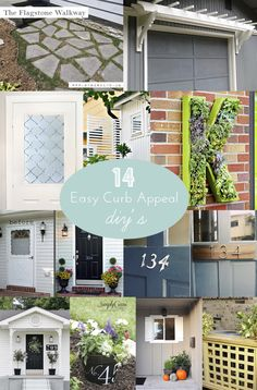 Trend: DIY Curb Appeal. With a few tricks and a bit of time you can update your home's curb appeal. I've collected a few favorite DIY ideas (from some lovely bloggers) that I think anyone can recreate on a budget.  Updated gatehouse (I love everything about this): Thistlewood Farms. Paint that front door: 320 Sycamore. Make [...]