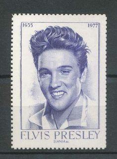 Sweden stamp 2004 - Elvis Presley