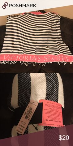 Victoria's Secret Throw NWT Victoria's Secret Throw/Beach blanket. Never been used. From a smoke free home. Victoria's Secret Other