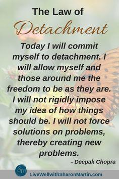 Law Of Detachment, Detachment Quotes, Codependency Quotes, Codependency Recovery, Emotional Detachment, Toxic Relationships, Healthy Relationships, Relationship Advice, Marriage Tips