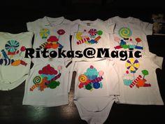 Pintura de camisolas/etc para a festa final da sala dos bebés.