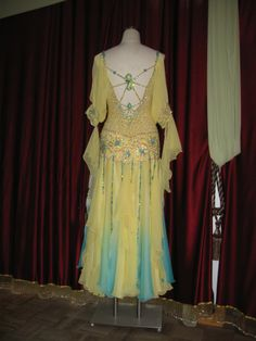 My beautiful Designs to Shine dress.  Would love to know the history on this dress.
