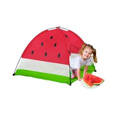 GigaTents Kids Outdoor Camping Picnic Tutti Frutti Watermelon Dome