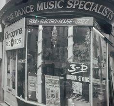Groove Records - Soho, London.