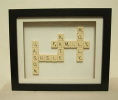 Christmas Idea for grandparent with grandchildren's names