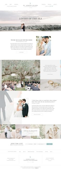 This limited-edition, elegant Showit website template has everything you need to turn site visitors into clients with a built-in logotype, alternate header layouts, two blog layouts, a newsletter sign up and more! Created specifically for photographers, event planners and creatives via Davey & Krista.