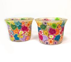 Candle holders by Sigalsart On Etsy, via Flickr