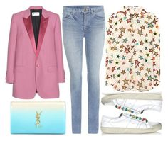 street style by sisaez on Polyvore featuring polyvore fashion style Yves Saint Laurent clothing