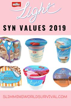 Syn Values Changed for Muller Lights in Check the updates values here. astuce recette minceur girl world world recipes world snacks Slimming World Shopping List, Slimming World Syns List, Slimming World Survival, Slimming World Syn Values, Slimming World Dinners, Slimming World Recipes Syn Free, Slimming World Plan, Slimming Eats, Slimming Workd