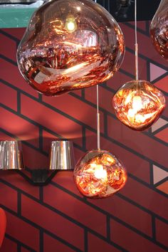 tom dixon melt copper pendant light pendants lighting heal 39 s moderne einrichtung. Black Bedroom Furniture Sets. Home Design Ideas