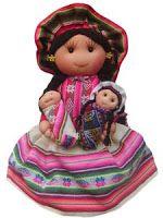 Muñecas de Trapo Inca