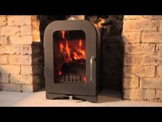 The Vesta V4 (4KW) woodburning stove
