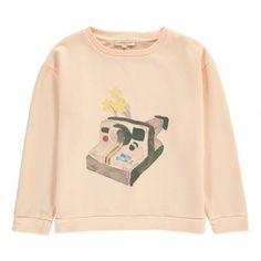 Polaroid sweatshirt Powder pink  Hundred Pieces