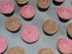 Cupcake de baunilha com Buttercream