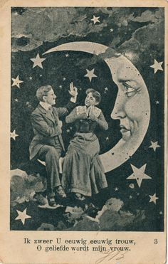 It's Only a Paper Moon: Good Times, Vintage Portraits